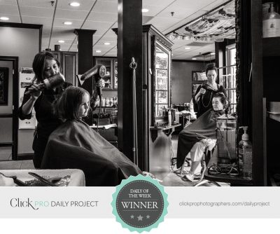 girl-in-salon-mirrored-black-and-white-laura-beth-davidson
