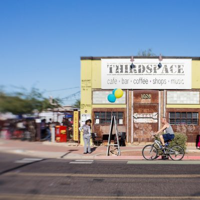 Thirdspace Coffee Shop by Iris Nelson