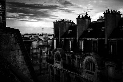 Paris Black and white photography - Merja Varkemaa Photography