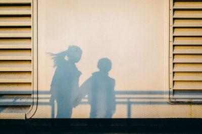 BethCrossman Ferry Shadow boat light siblings summer golden hour love travel documentary