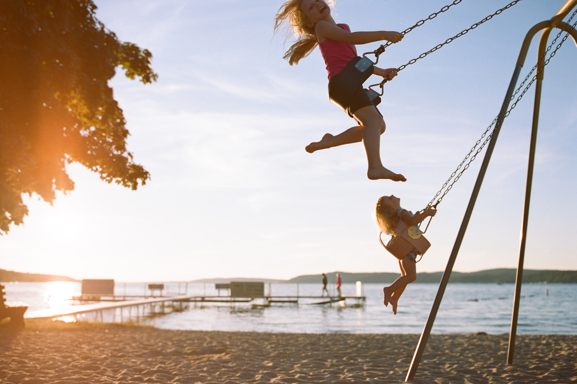 Sunset Swings By Bethany Sams