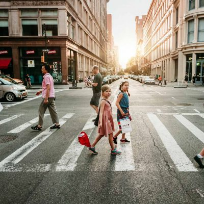 crossing the street by monica carlson posted on the Click Pro Da