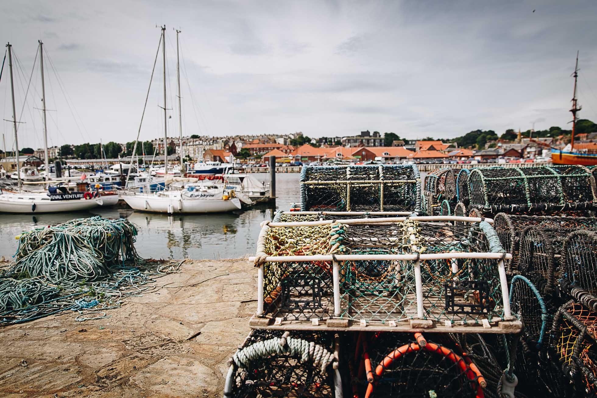 crab net catchers objects