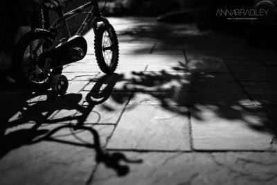 Summer shadows Amersham Buckinghamshire black and white photography