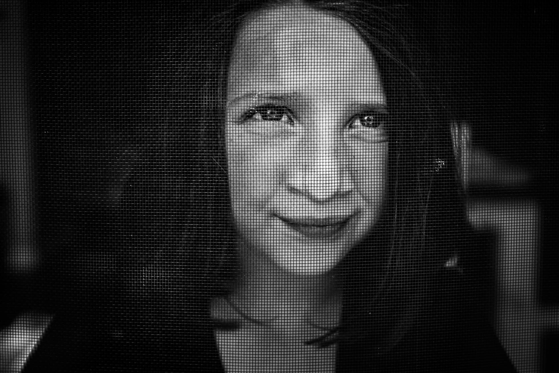 Through The Screen Door By Lindsay Beros
