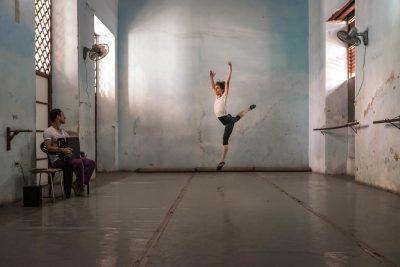 documentary travel photo taken of a ballet dance in Havana Cuba