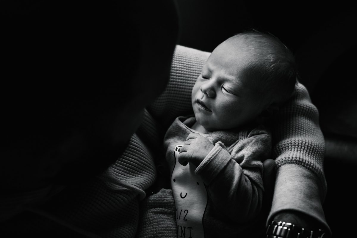 Newborn Boy by Aimee Glucina