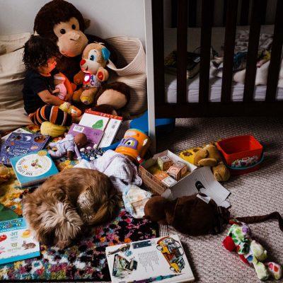 documentary photography family toddler dog