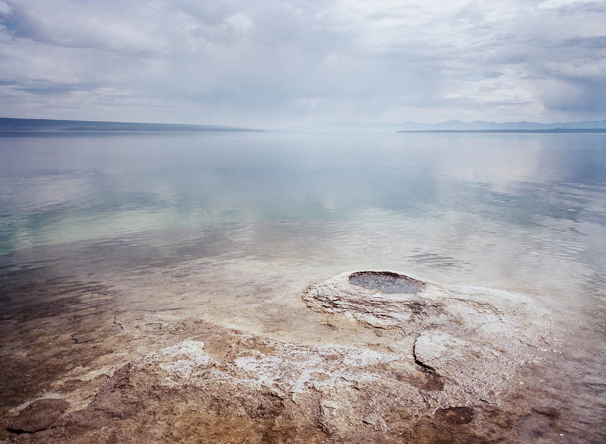 joyce kang yellowstone fishing hole