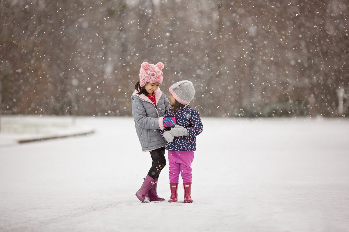 Snowy Day in D.C.