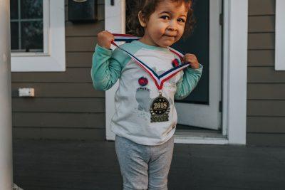 toddler girl soccer medal