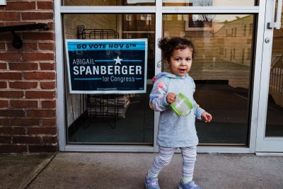 get out the vote future voter spanberger