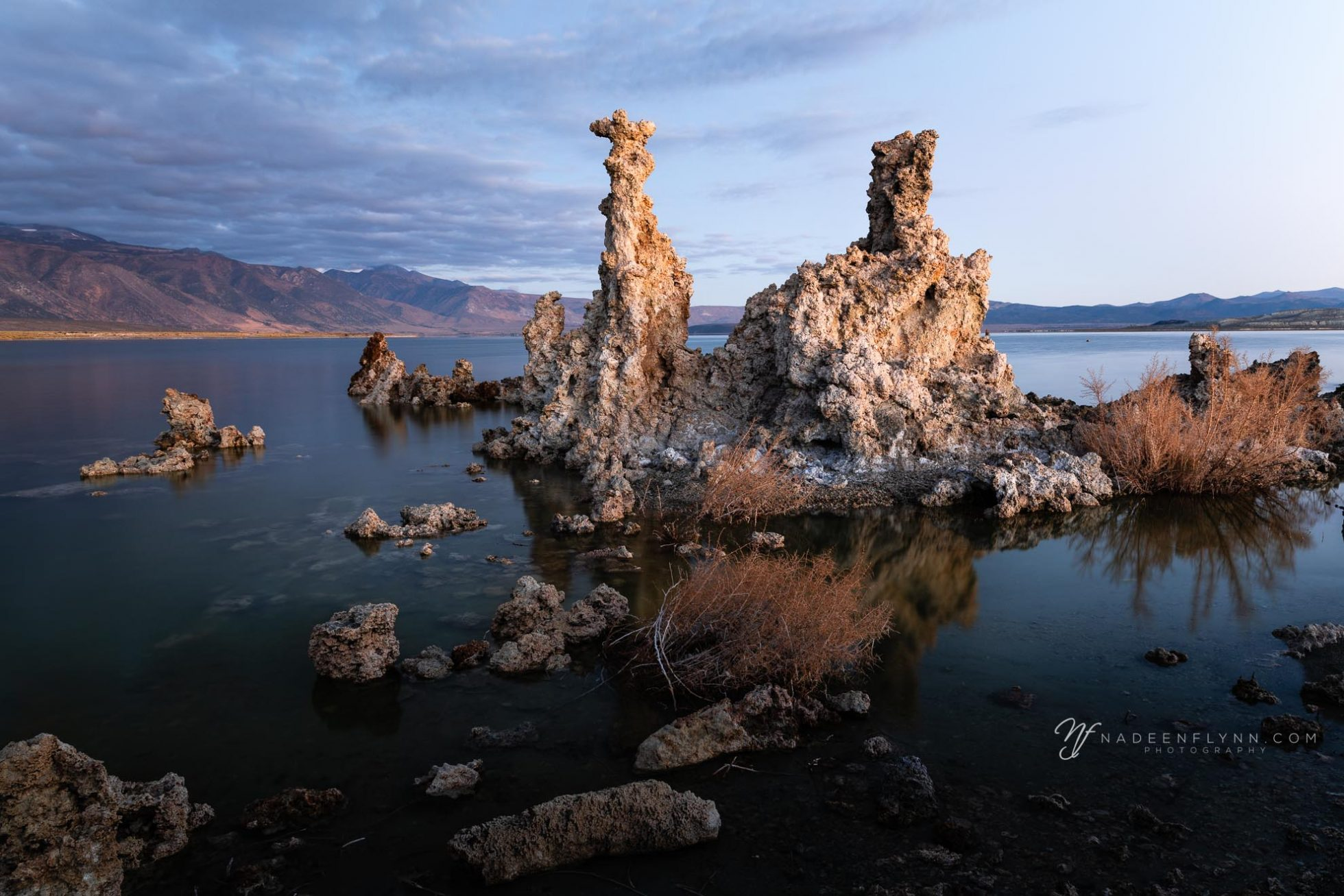 rugged tufas at Mono Lake