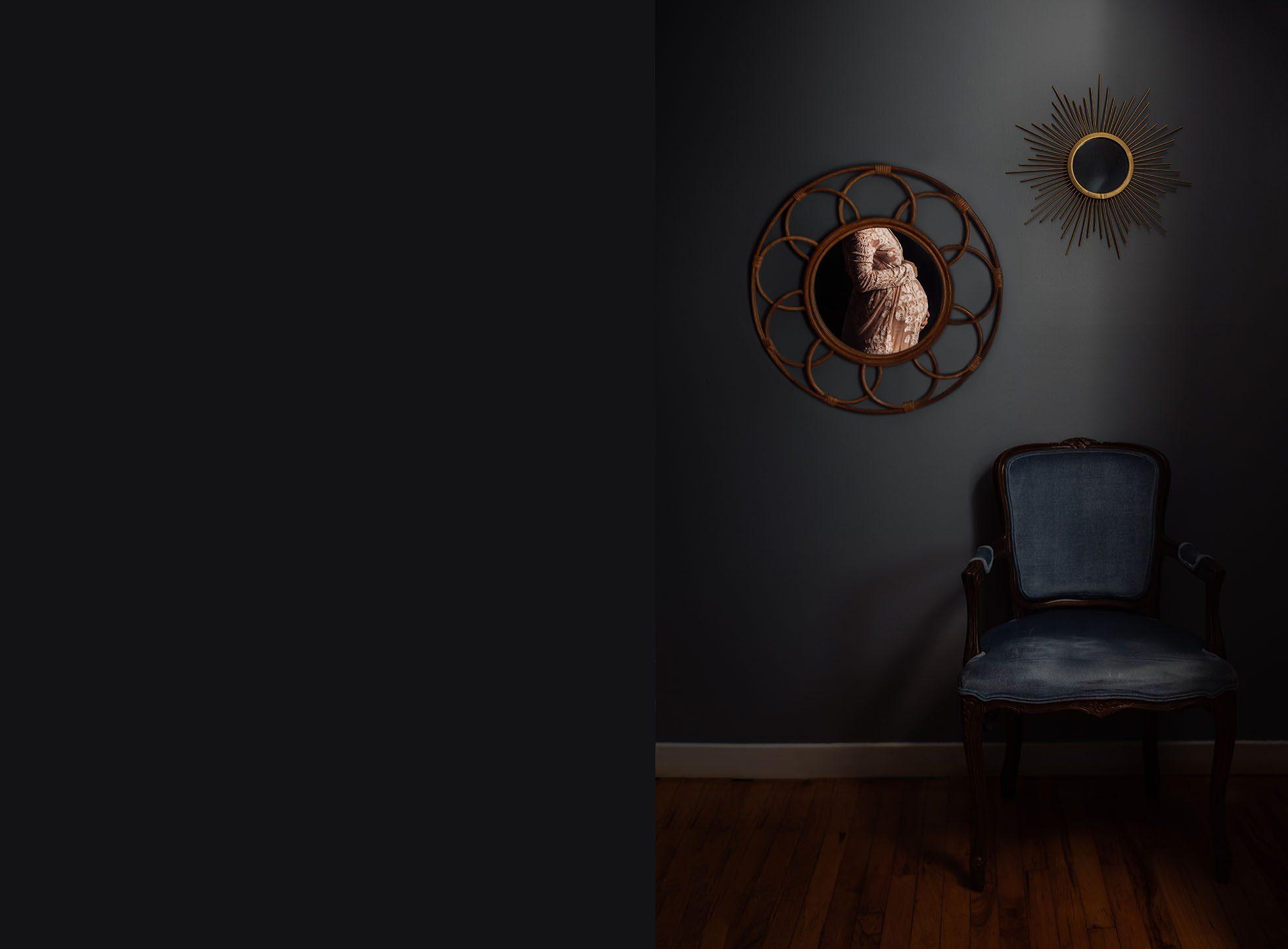 Meg Loeks Maternity Self Portrait