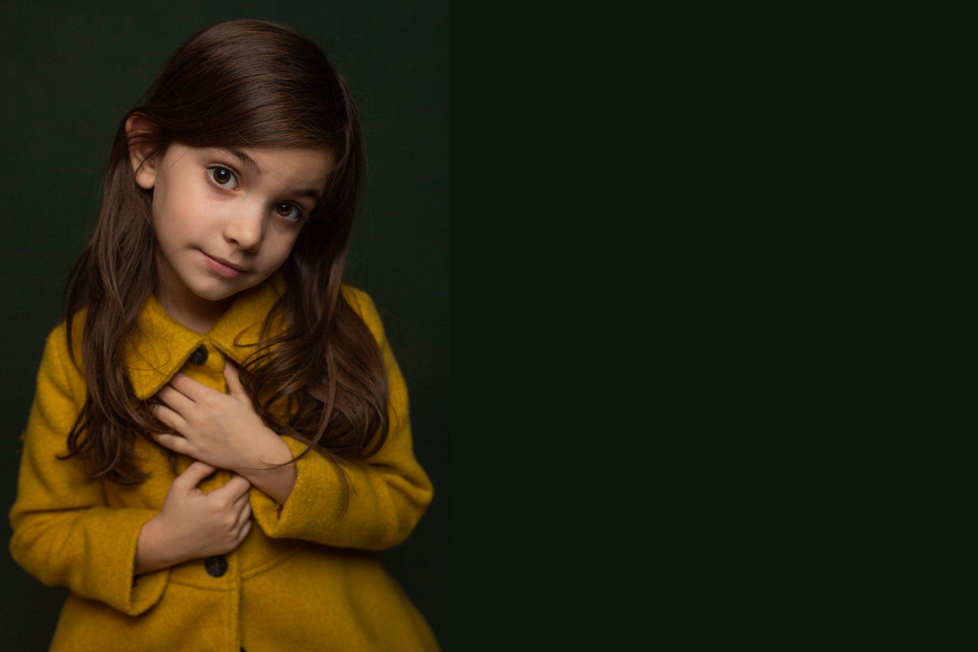 Girl in Yellow Jacket