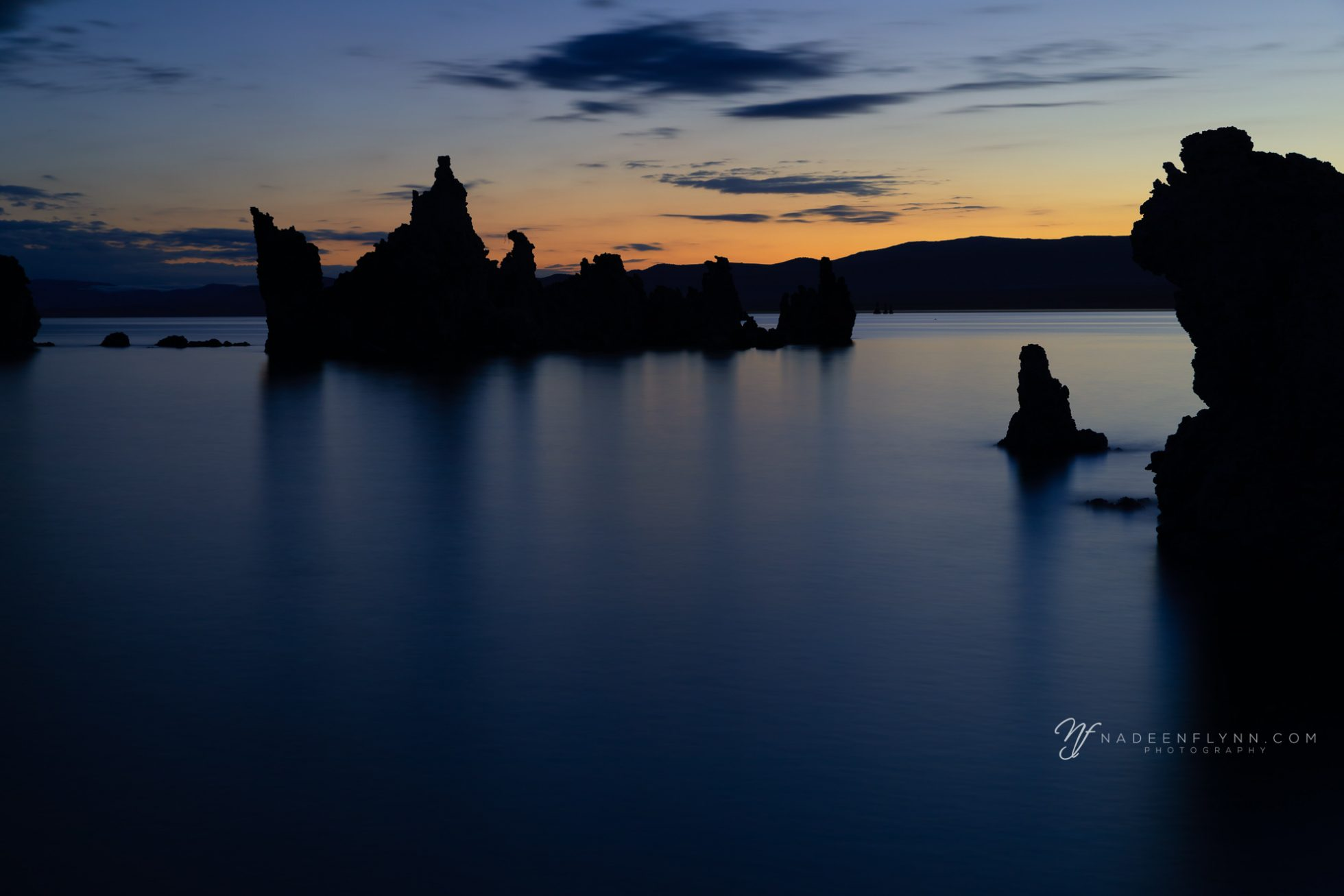 silence on Mono Lake, CA