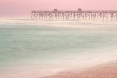 florida, sunset, fog, long exposure, danielle w press, evening, east coast, tripod, canon, tamron, beach, water, usa