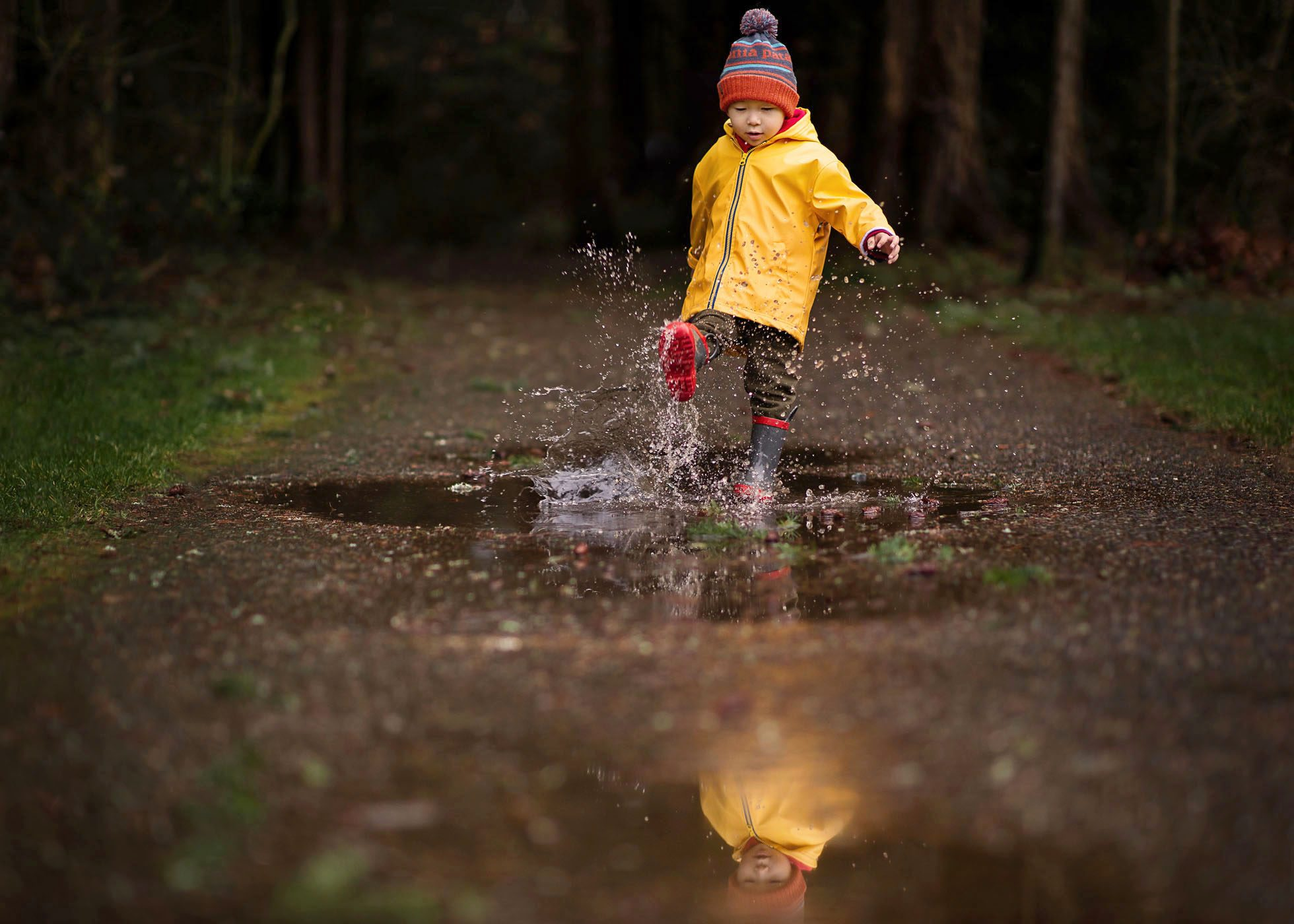 splashing puddle by adlyn photography copy
