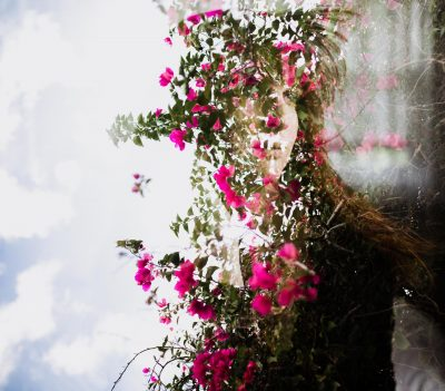 Double exposure self portrait by Saint Petersburg Florida photographer - Tami Keehn