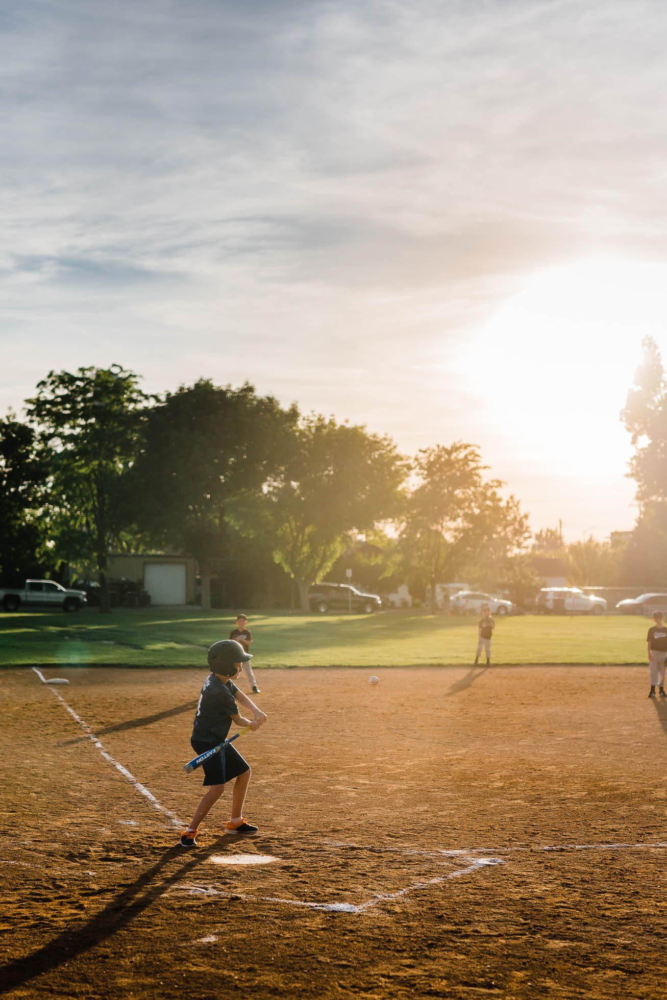 Baseball Season at Bat-1