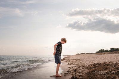 Take me Back beach photograph by Anna Bradley