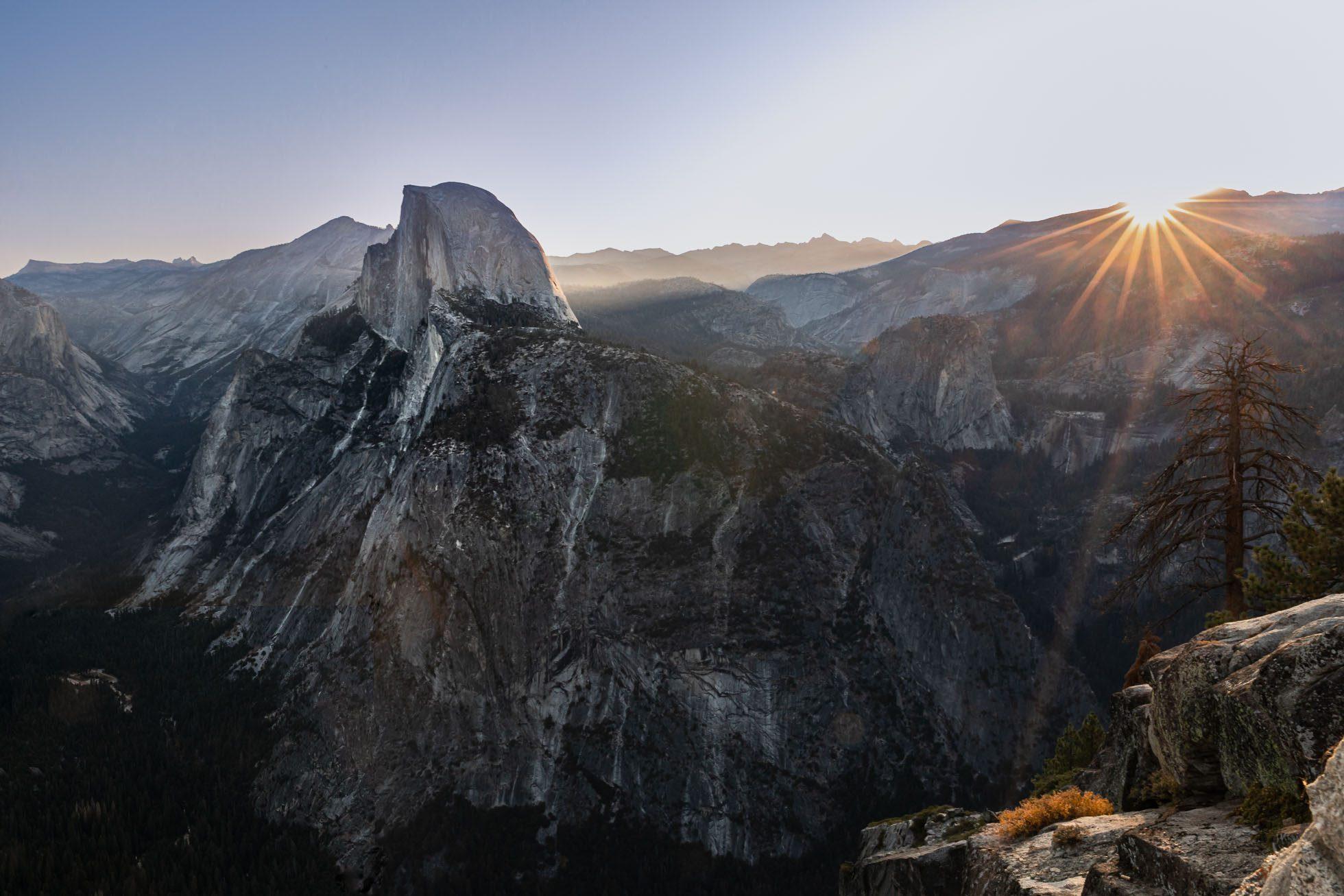 Half-Dome-Sunrise-©Nadeen-Flynn-Photography